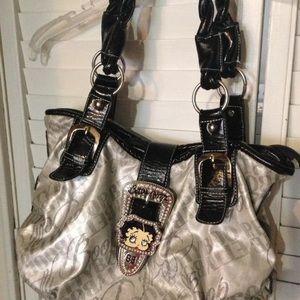 Handbags - Betty Boop Vinyl Handbag